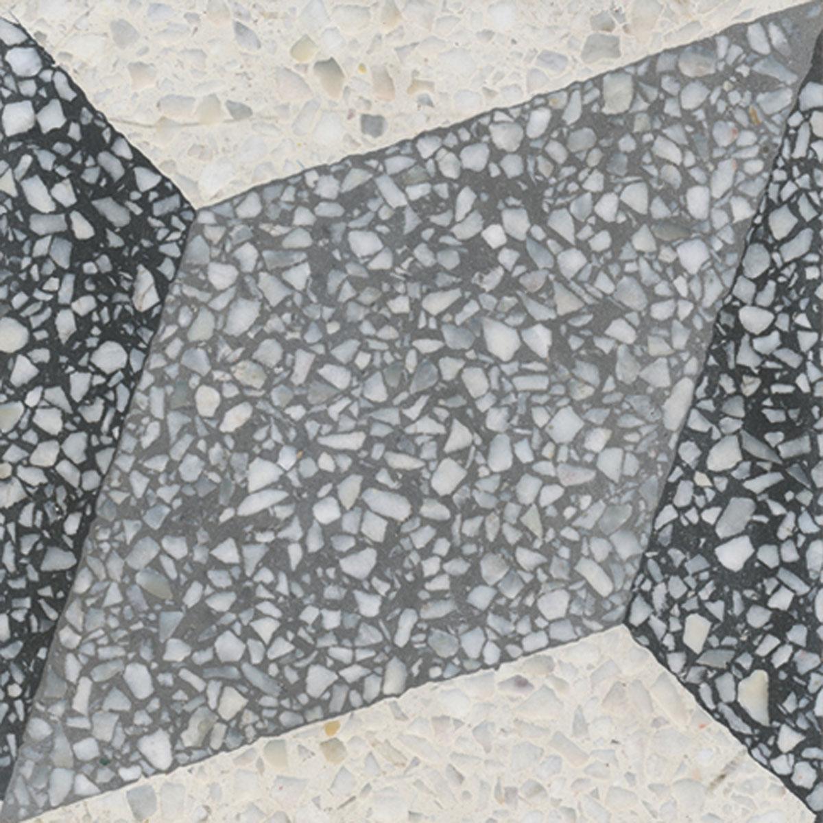 Terrazzo tile GROSSO ornament Trapezium« von Replicata - 20 x 20 x 1 ...