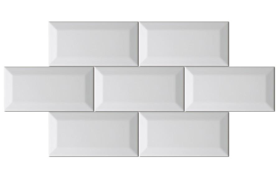 wall tile metro von replicata white replikate. Black Bedroom Furniture Sets. Home Design Ideas