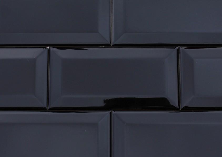 187 Wall Tile Metro 171 Von Replicata Black Glazed Replikate