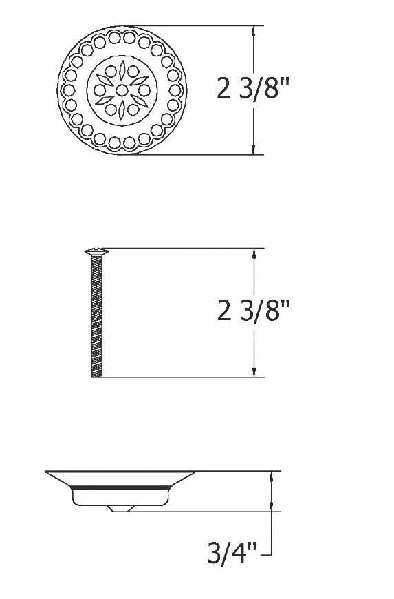 Scale drawing of: HERITAGE1 tap holewidth: 400 mmdepth: 320 mmtrap has to be ordered seperatly