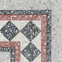 Terrazzo Tile Grosso Corner Tile Check Von Replicata 200
