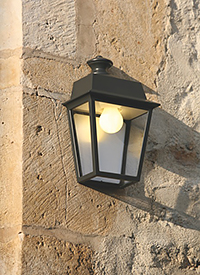 Bringing light into darkness... 10% autumn sale in October for all our wall-mounted lanterns and lamps for outdoor use
