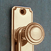 Terrace door handles, door knobs, key bows