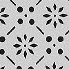 Matt background / clear and continuous pattern