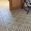 Multicolored patterned cement tiles - size 14 x 14 cm