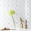 Mall format, playfully patterned wall tiles - size 13 x 13 cm