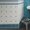 Traditional tiles with matt glaze - sizes 20 x 20 cm und 10 x 20 cm