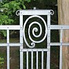 In wrought iron