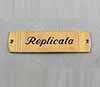 Name plate brass