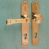 Entrance door fittings ART NOUVEAU ROSE
