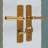Interior door fittings for WC ART NOUVEAU