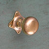 Door knob ART NOUVEAU Ball