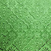Ornament glass FLORO MORISCO - 61 x 122 - green