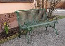 Garden bench ARRAS 2 or 3-seater