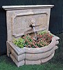Stone fountain LARGE bluestone patinated