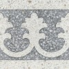 Terrazzo tile GROSSO border tile Lily