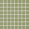 colour: sage, 300 x 300 mm, thickness 8 mm, unglazed, unicoloured on net