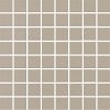 colour: taupe, 300 x 300 mm, thickness 8 mm, unglazed, unicoloured on net