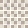 colour: taupe/moon, 300 x 300 mm, thickness 8 mm, unglazed, bicoloured on net