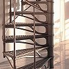 Spiral stair cast-iron DESIGN 2000