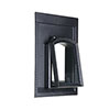 Steel-roof window PICO - with round arch  - 26 x 60 - without glazing bars
