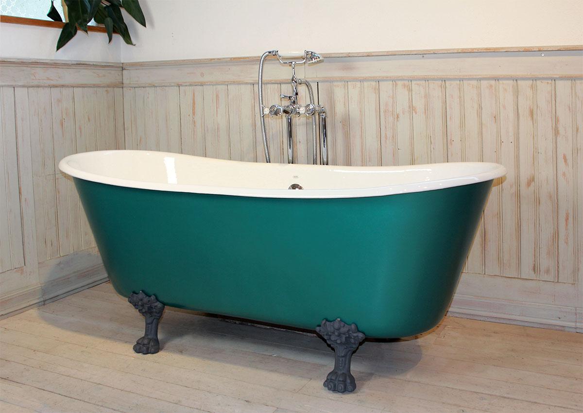 Bathtub PRIMROSE cast-iron« von Replicata - white enamelled ...
