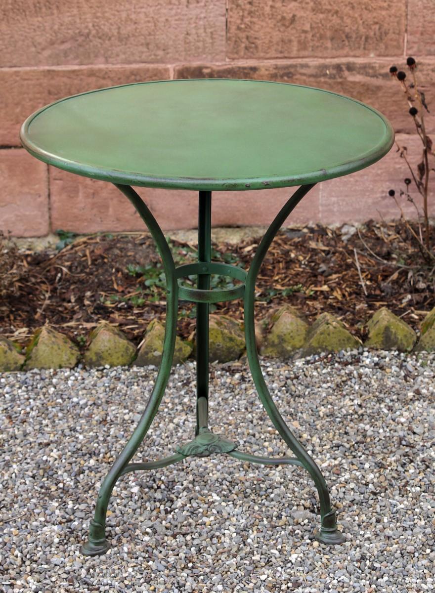 Garden Table Arras Round Von Replicata Material Iron Replikate