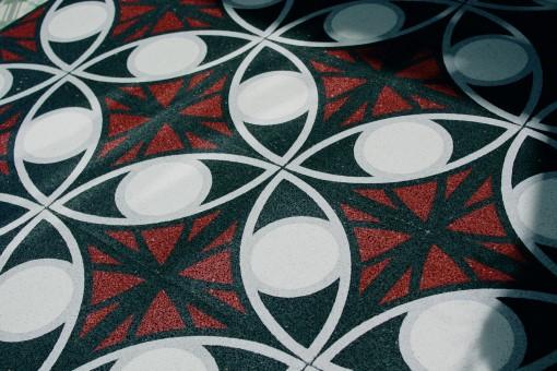 Terrazzo Cement Floor Tiles Von Replicata 200 X 200 X 18