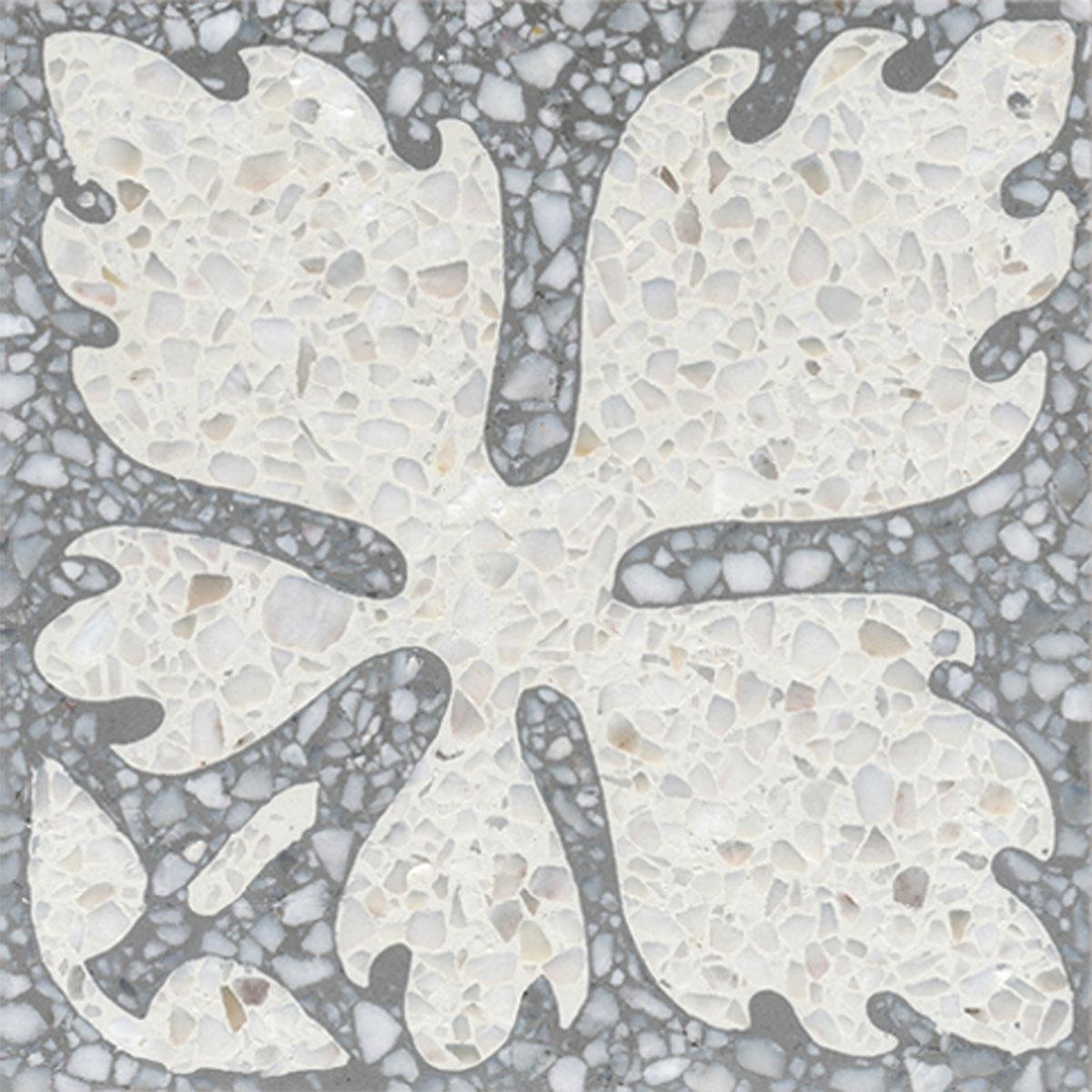 Terrazzo tile GROSSO ornament Leaf« von Replicata - 200 x