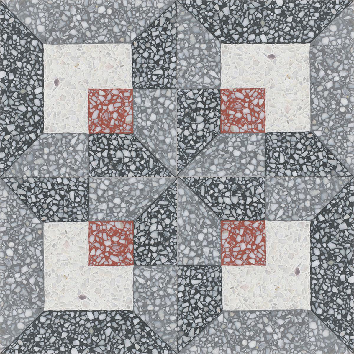 Terrazzo Tile Grosso Ornament Werkbund Von Replicata 200