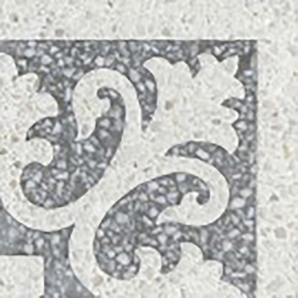 Terrazzo tile GROSSO corner tile Lily« von Replicata - 200 x