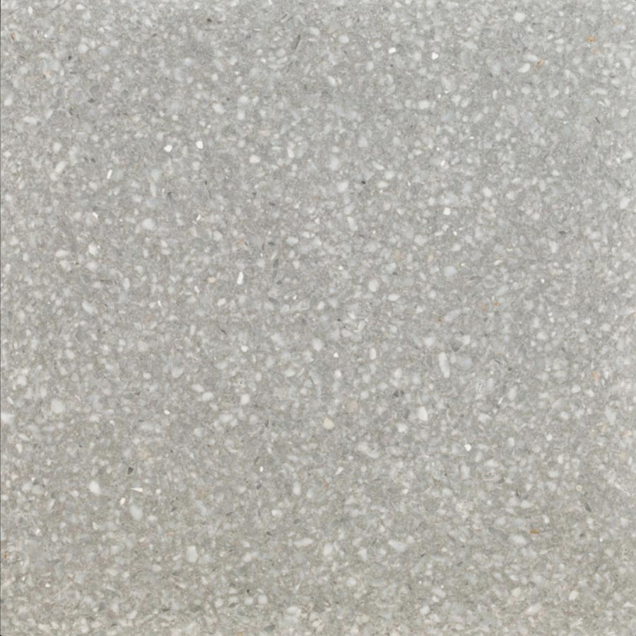 Terrazzo Cement Floor Tiles Von Replicata Graniglie Light Grey