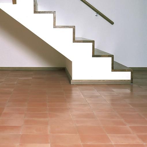 Cement Floor Tile Single Coloured Salmon 31 Special Colour Von