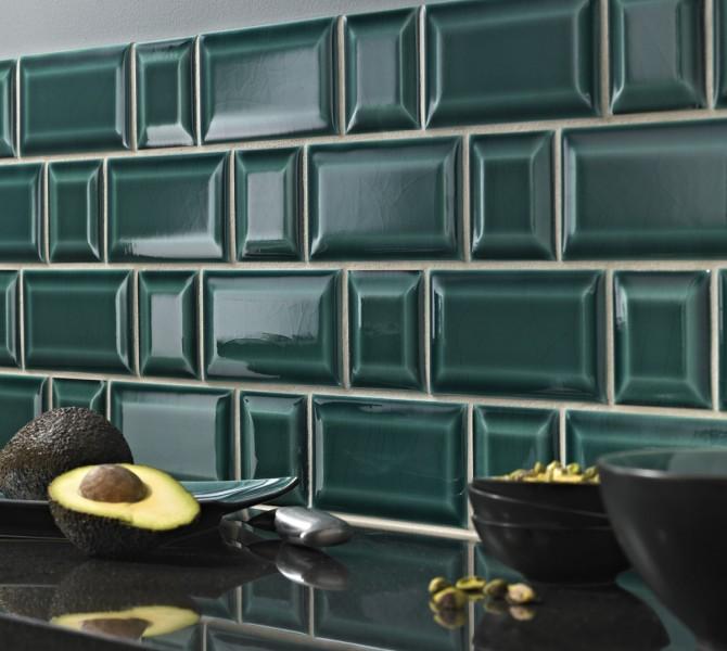 Rectangular Tile Size X Cm By Replicata Wellformed - Metro fliesen craquele