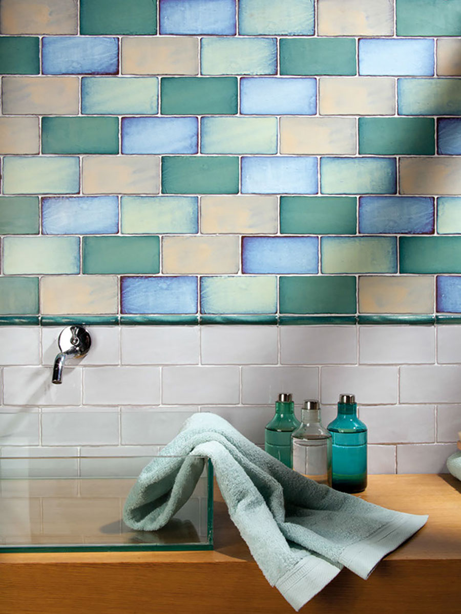 Wall tiles «AGUA» by Replicata: Well-formed Reproductions for Living ...