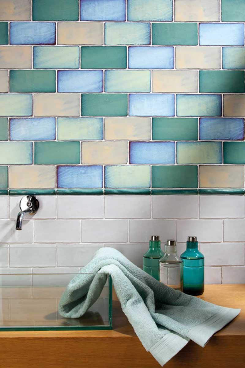 Wall tile AGUA« von Replicata - 75 x 150 mm - Replikate