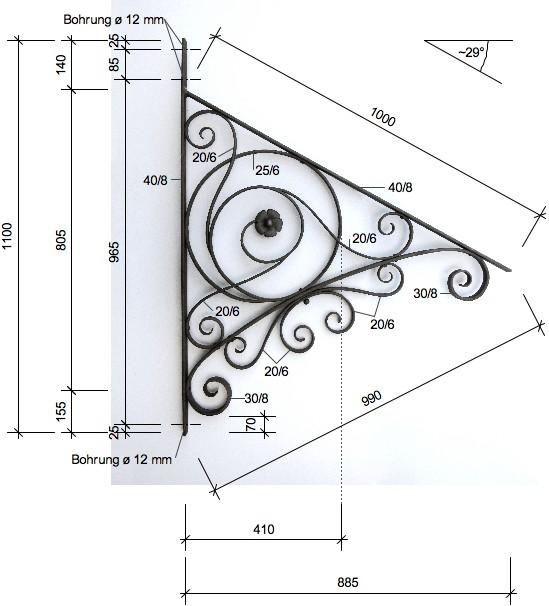 Scales  sc 1 st  Replicata & Canopy bracket HISTORISM« von Replicata - - Replikate