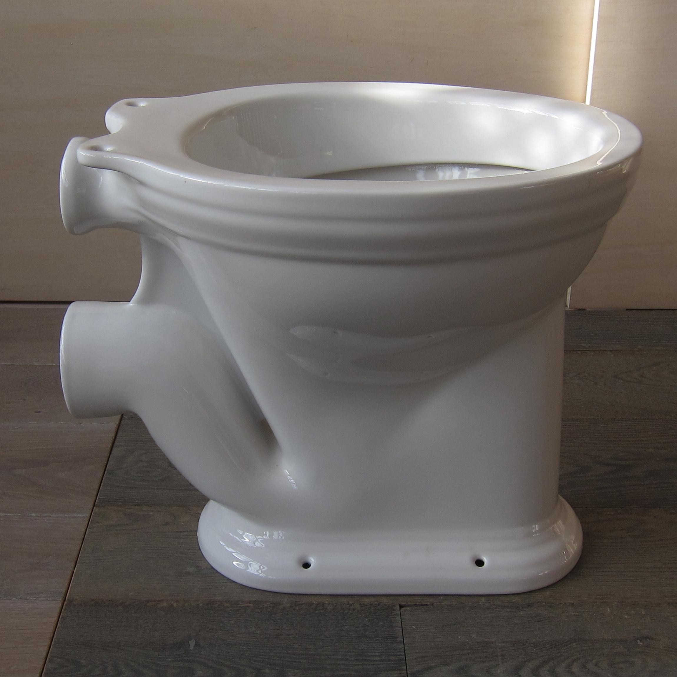 Toilette Carlton Wc Becken Ohne Spülkasten U Spülrohr Von